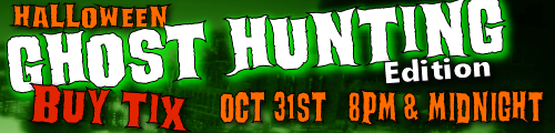 Hunt ghosts Halloween night haunted attraction greenville sc