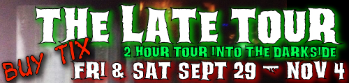 Hallween haunted LATE tour downtown greenville ghost stories