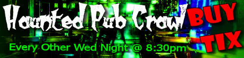 haunted pub crawl greenville sc