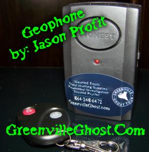 Greenville Ghost Geophone